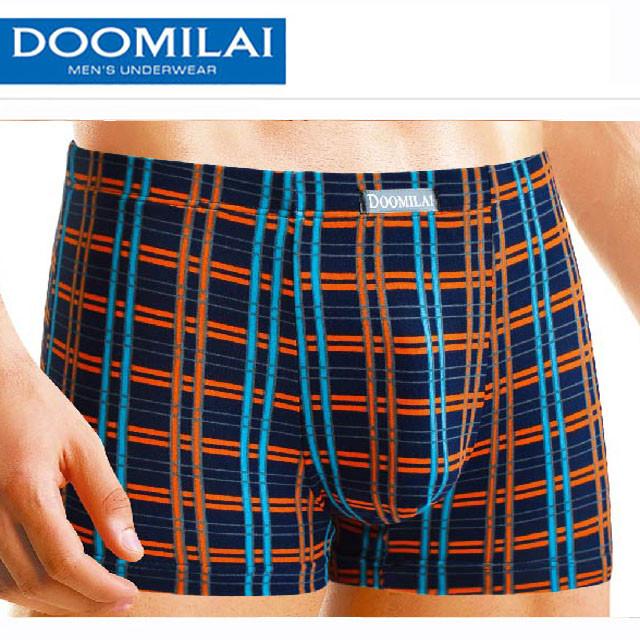 Мужские боксеры стрейчевые из бамбука  Марка  «DOOMILAI» Арт.D-01080