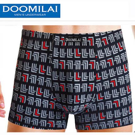 Мужские боксеры стрейчевые из бамбука  Марка  «DOOMILAI» Арт.D-01096, фото 2
