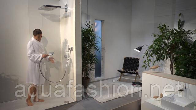 душевая система со смесителем и верхним душем цена