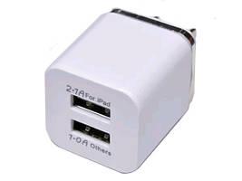 Адаптер переходник USB 220V зарядка кубик двойной AR 62 AR-18