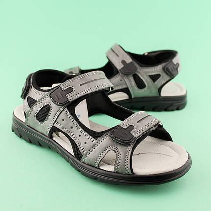 Подростковые сандалии на мальчика Серые тм TOMM размеры 36,38, фото 2