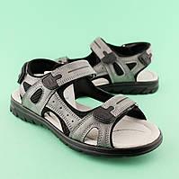 Подростковые сандалии на мальчика Серые тм TOMM размеры 36,37,38,39