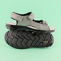 Подростковые сандалии на мальчика Серые тм TOMM размеры 36,38, фото 3