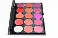 Профессиональная палитра помад для губ 15 цветов Make Up Me №1, фото 4