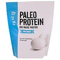 Julian Bakery, Paleo Protein, протеин яичного белка, без аромата, 2 фунта (907 г)
