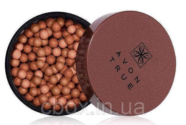 Румяна-шарики для лица и тела, Avon True, цвет Deep Bronze, Glow Bronzing Pearls, Эйвон, 71657