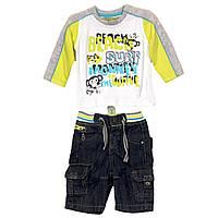 Детский летний комплект: джемпер, джинсы для мальчика 3 месяца, Losan Испания