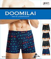 Мужские боксеры стрейчевые из бамбука  Марка  «DOOMILAI» Арт.D-01103, фото 3