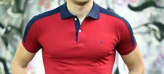 Футболка мужская поло Tommy Hilfiger (реплика)