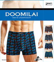 Мужские боксеры стрейчевые из бамбука  Марка  «DOOMILAI» Арт.D-01110, фото 3