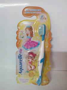 Зубні щітки STS дитячі з брелком кукла 4-х кольорів