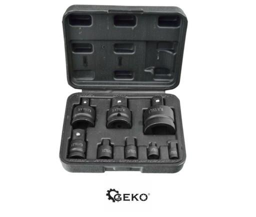 Набор ударных бит 1/4' 1/2' 3/4' 3/8' 8 предметов Geko G10090