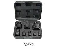 Набор ударных бит 1/4' 1/2' 3/4' 3/8' 8 предметов Geko G10090, фото 1