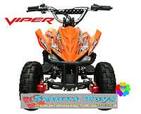 Детский квадроцикл Viper EATV 36V 1000 Watt Оранжевый