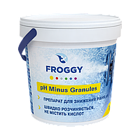 PH- Minus Granules, 25кг средство для понижения уровня Ph воды. Химия для бассейна FROGGY™