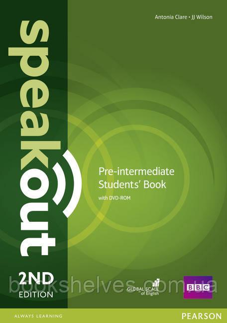 Speak Out 2nd Pre-Intermediate student's Book+DVD