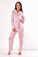 Пижама атласная Молли DONO, розовый
