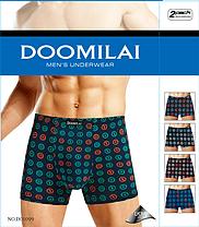 Мужские боксеры стрейчевые из бамбука  Марка  «DOOMILAI» Арт.D-01099, фото 3