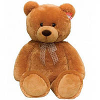 Мягкая игрушка Медведь коричневый сидячий 34 см