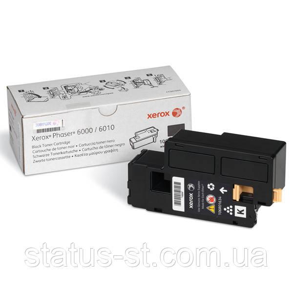 Заправка картриджа Xerox 106R01634 Black для принтера Phaser 6000, 6010N, WorkCentre 6015