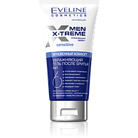 Увлажняющий гель после бритья 6 в 1 Eveline Cosmetics Men Extreme Sensitive 150 ml.