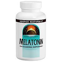 Source Naturals, Мелатонин, 3 мг, 240 таблеток