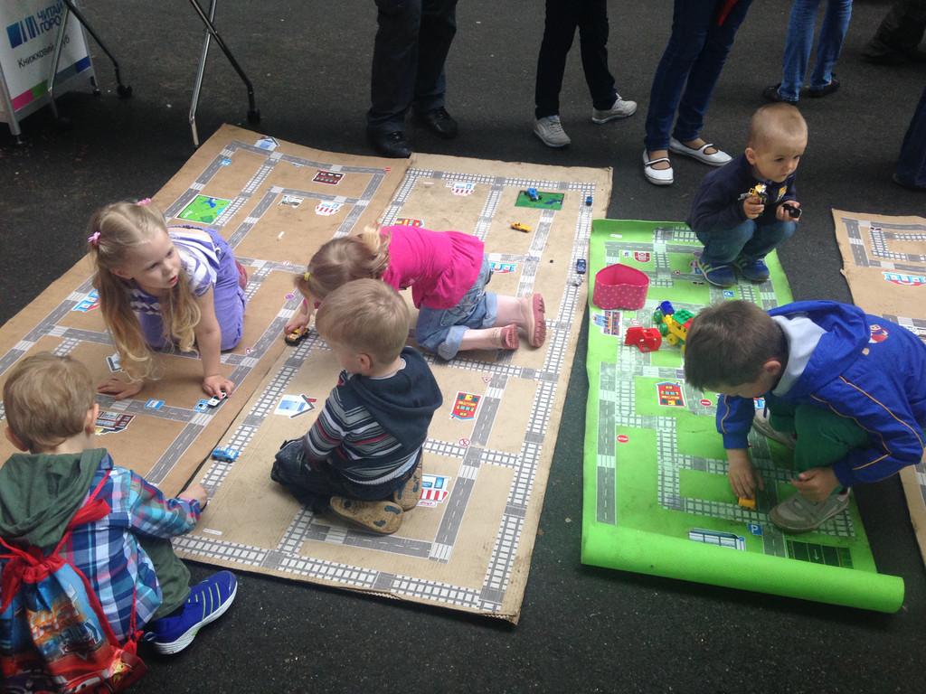 Игра Трик-Трек-отличная тренировка комуникации