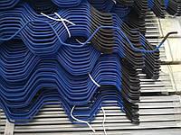 Профіль  для кріплення плівки зиг-заг довжина 2,4м; ціна за м.п Профиль Зиг-Заг для крепления тепличной пленки, фото 1