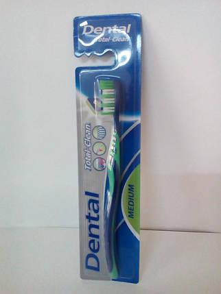 Зубна щітка одинарна Medium , фото 2