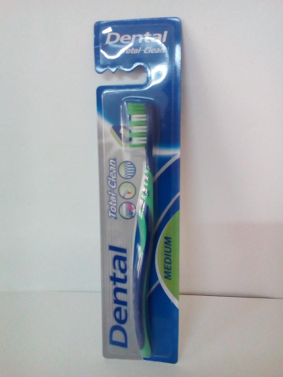 Зубна щітка одинарна Medium