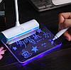 LED лампа светодиодная аккумуляторная розовая, фото 6