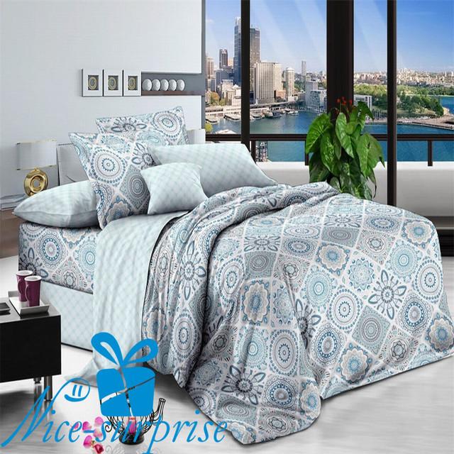 купить полуторный набор постельного белья из поплина в Одессе