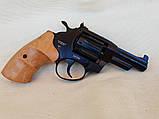 Револьвер под патрон Флобера Сафари РФ 431М с буковой рукоятью, фото 2