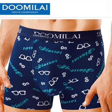 Мужские боксеры стрейчевые из бамбука  Марка  «DOOMILAI» Арт.D-01104, фото 2