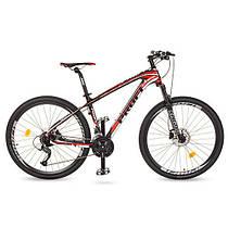 Велосипед спортивный Profi 27.5д.EB275 STUBBORN CB275.1 черно-красный