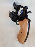 Револьвер под патрон Флобера Сафари РФ 431М с буковой рукоятью, фото 3