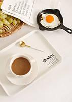Маленький поднос Завтрак Desight Удобный помощник при переноске Стильный аксессуар Код: КГ4609