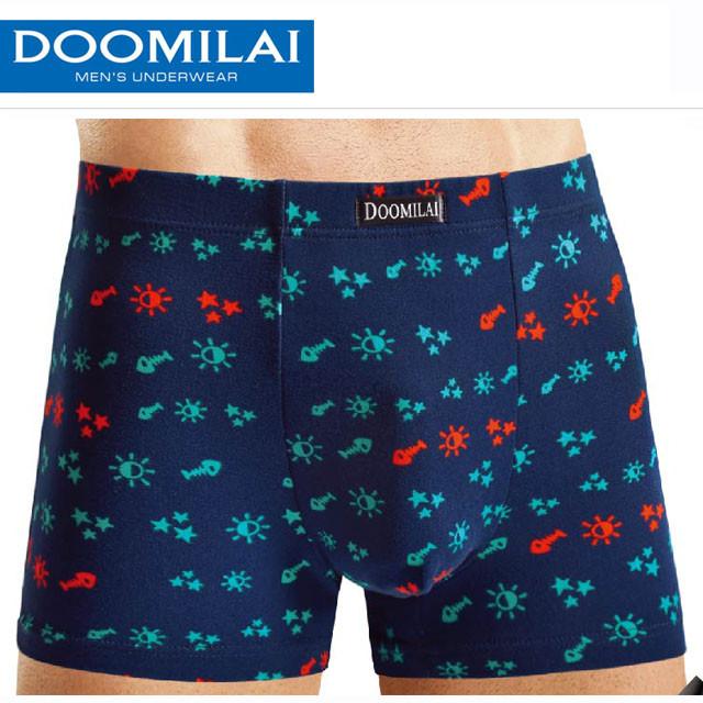 Мужские боксеры стрейчевые из бамбука  Марка  «DOOMILAI» Арт.D-01103