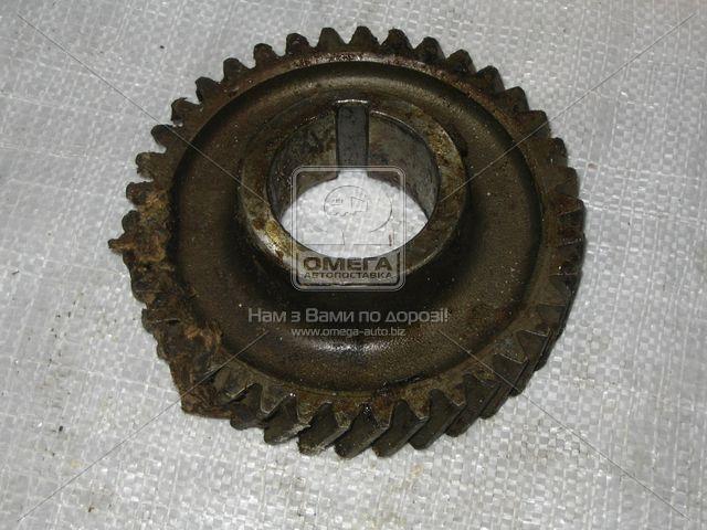 Шестерня 4- передачи вала промежуточного (38 зуб.). 130-1701185. Ціна з ПДВ.