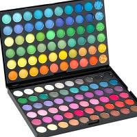 Палитра теней для макияжа век 120 оттенков №1 Набор теней для макияжа 120 цветов  Тени для век