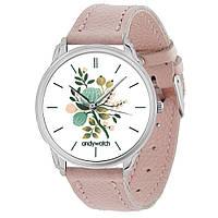 Женские часы Andywatch Spring AW 595 розовые