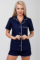 Пижама женская Идиллия DONO, тёмно-синий, фото 1