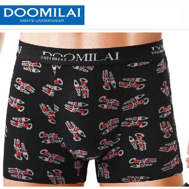 Чоловічі боксери стрейчеві з бамбука Марка «DOOMILAI» Арт.D-01101