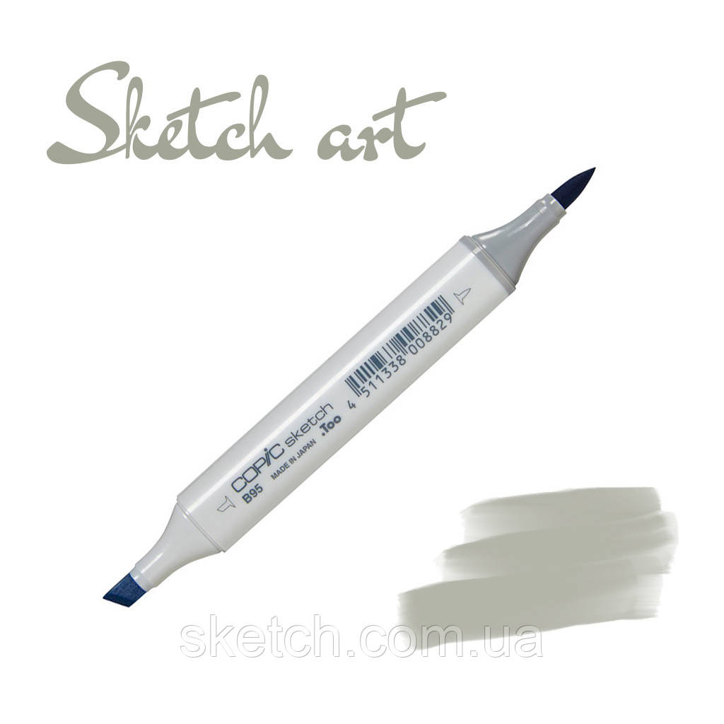 Copic маркер Sketch, #W-6 Warm gray