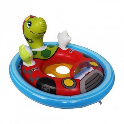 Детский надувной плотик-круг с трусиками Животные Intex, фото 2
