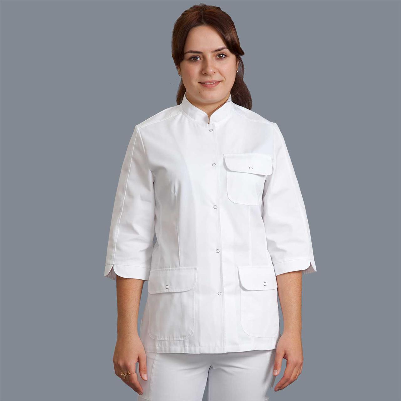 Медицинская женская куртка Жасмин р.42 (пл.тк. 210)