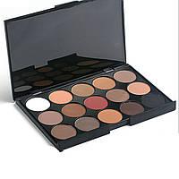 Корректоры консилеры Mac Cosmetics 15 оттенков + Тени для макияжа 15 штук цветов Mac Cosmetics матовые палитра, фото 3