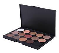 Корректоры консилеры Mac Cosmetics 15 оттенков + Тени для макияжа 15 штук цветов Mac Cosmetics матовые палитра, фото 7