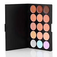 Корректоры консилеры Mac Cosmetics 15 оттенков + Тени для макияжа 15 штук цветов Mac Cosmetics матовые палитра, фото 8