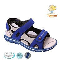 Босоножки, сандалии для мальчика р.26-31 ТM Tom.m С-Т34-22-E сапфир